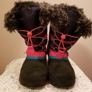 Kamik Kids Snow Boots Size 4
